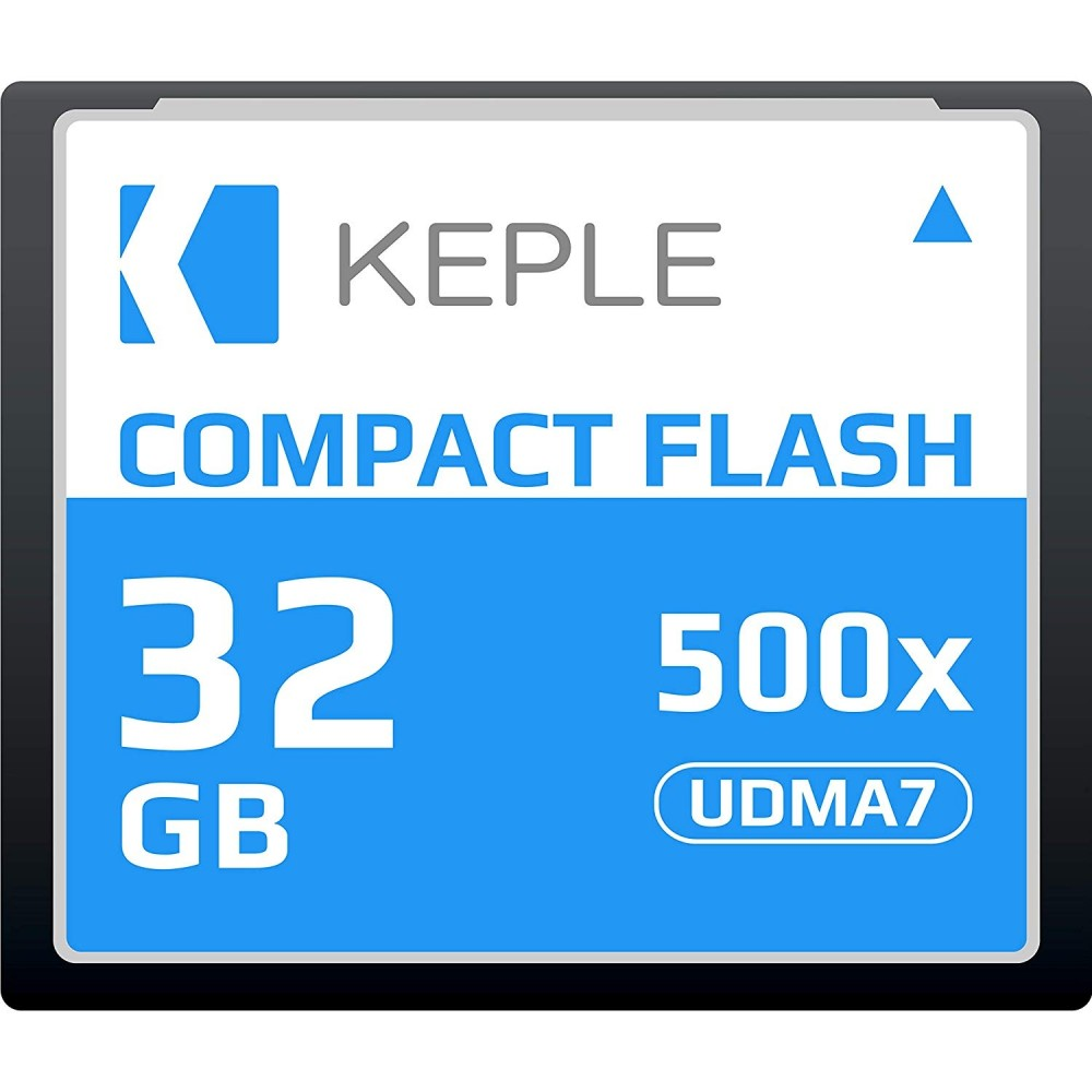 CF 32 GB Compact Flash Memory Card UDMA 7 500x 75MB/s Supports 4K and 1080p full HD Video, R 98 MB/s W 46 MB/S Compatible with Nikon D5, D4, D800, D810, D700, D300; Canon 5d, Mk II, III, IV; 7d, Mk II