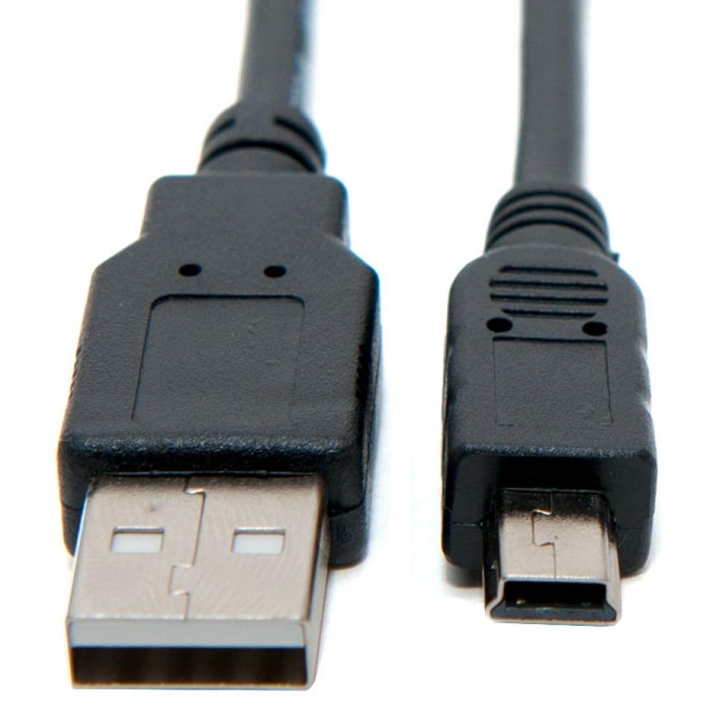 Canon ZR70 MC Camera USB Cable