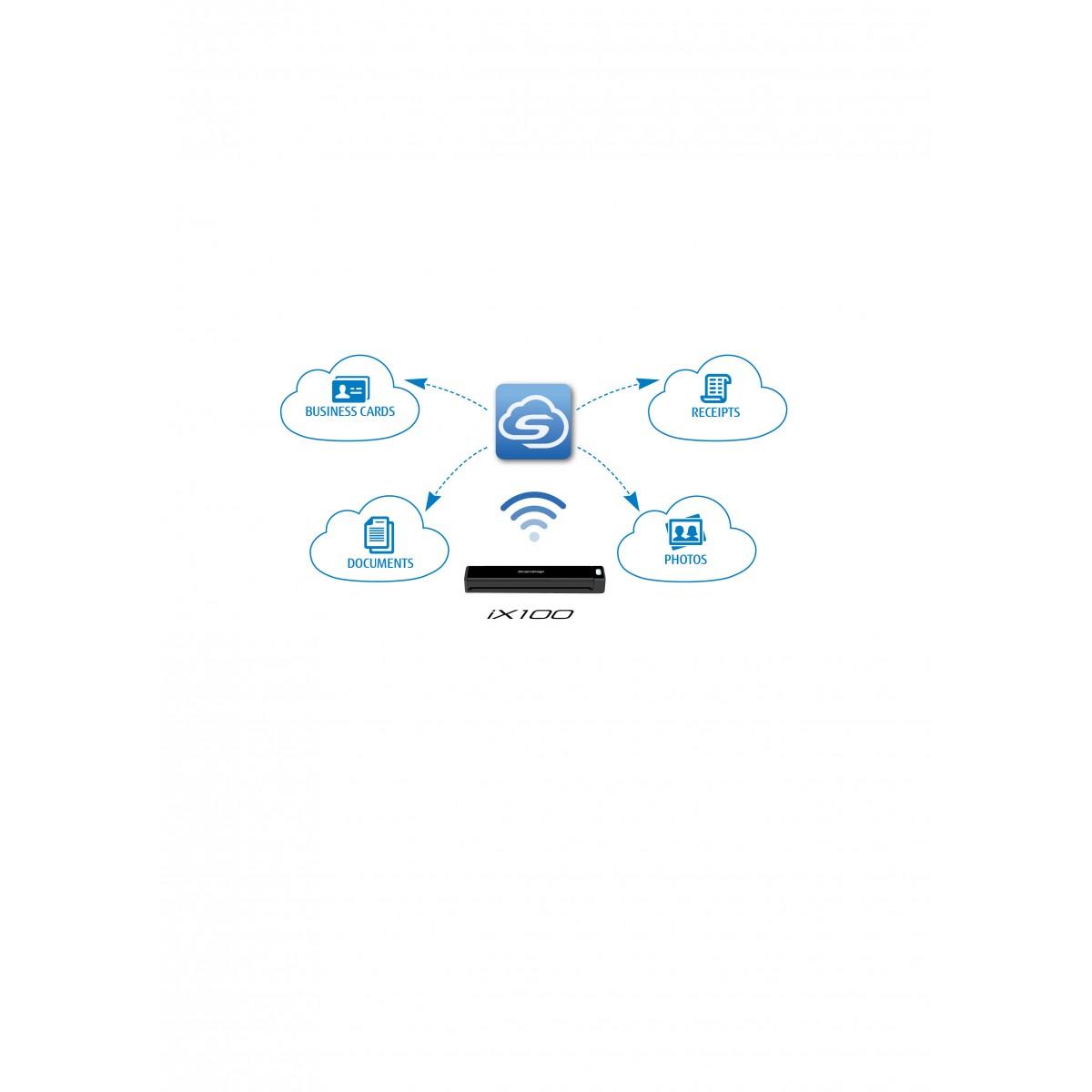 Fujitsu scansnap ix100 mobile wireless document scanning solution fujitsu scansnap ix100 mobile wireless document scanning solution format a8 up to a3 with colourmoves