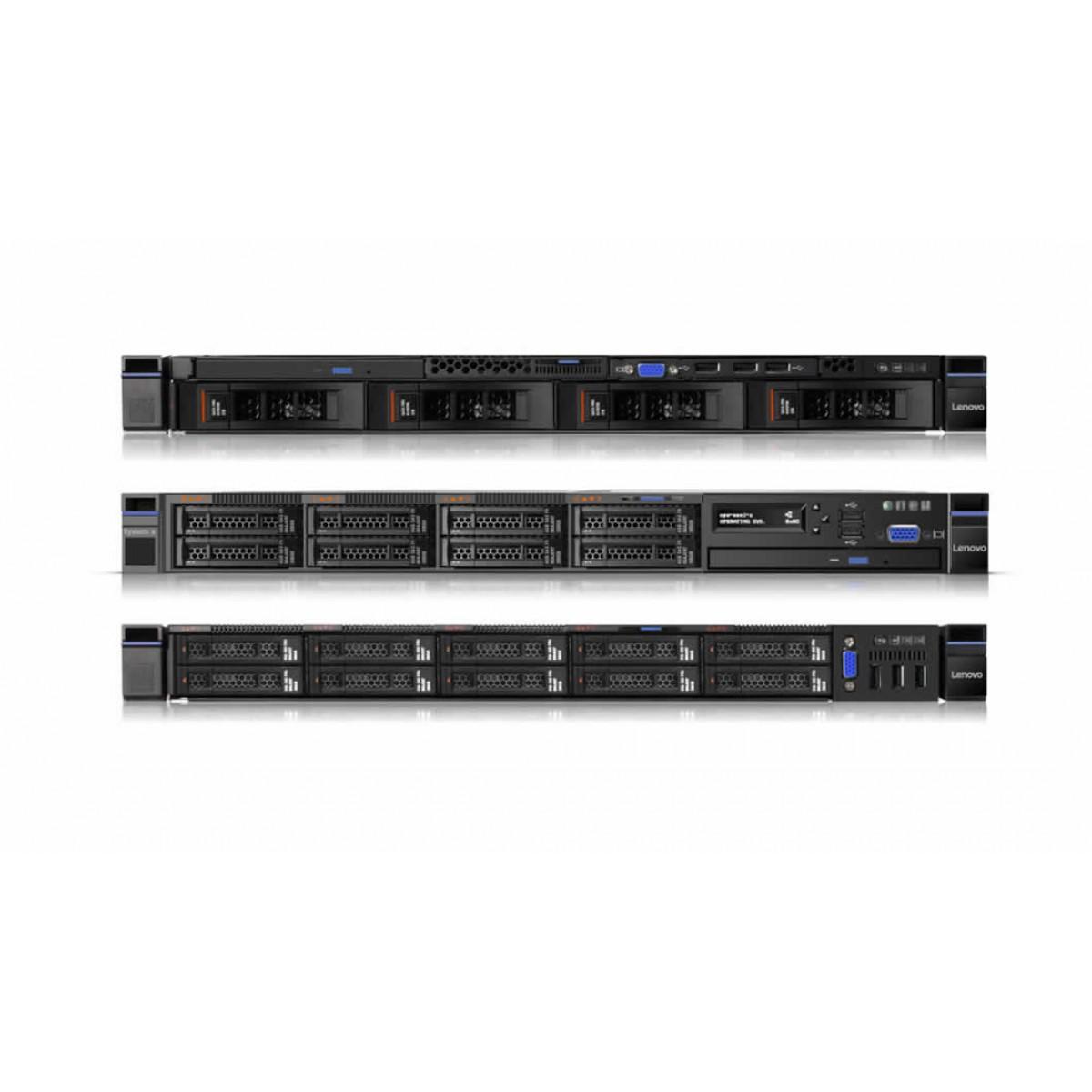 Lenovo System x3550 M5 8869 Server rackmountable 1U 2way