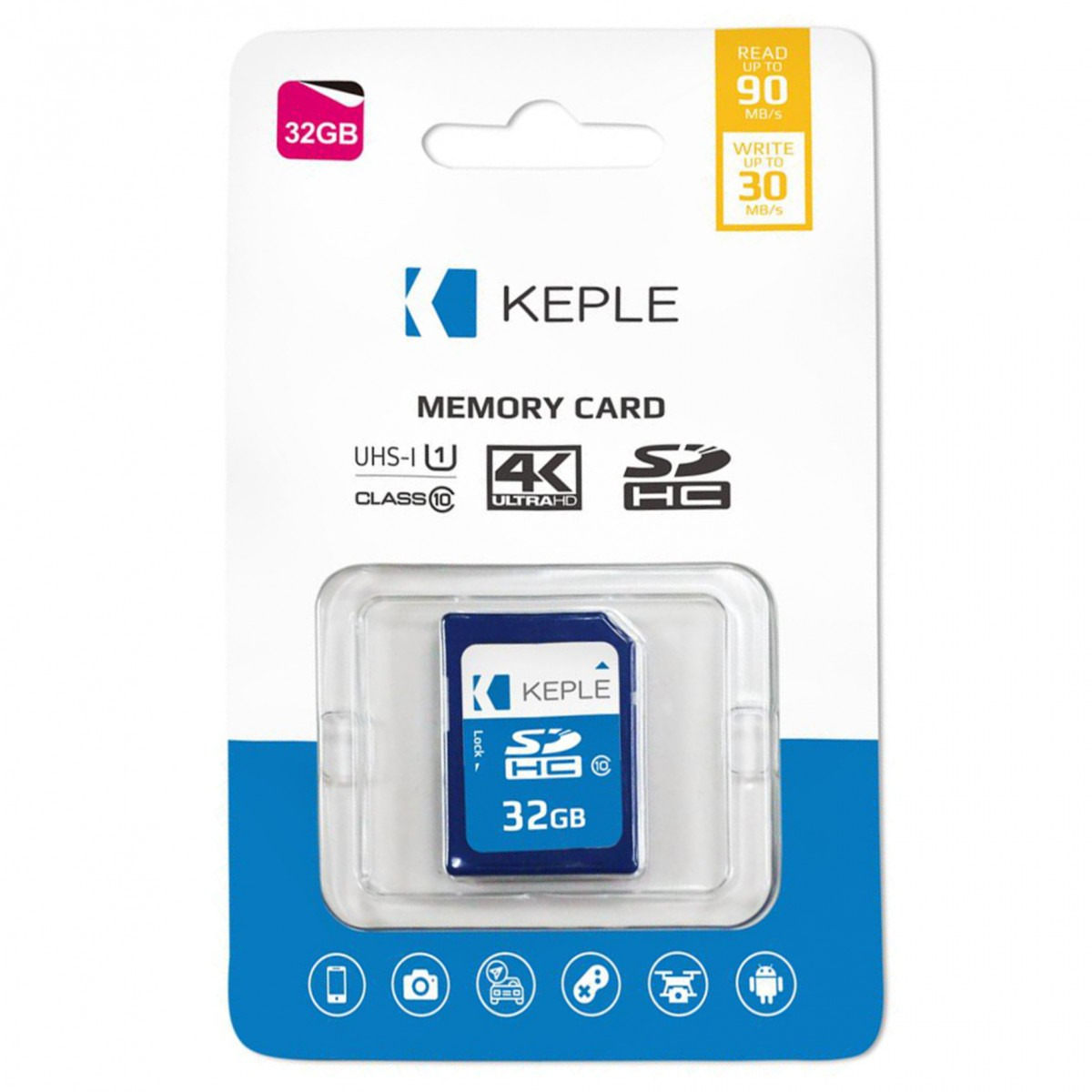 32GB SD Memory Card for Nikon Coolpix S6500, S5200, S9500, S3500, S3600,  S5300 Digital Camera