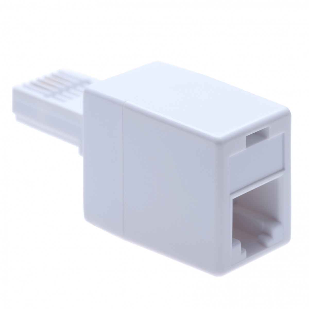 BT Telephone Line Cable Adapter from RJ400 Socket Female Jack to BS400 400A  Male Plug   British UK Modular Standard Connector to 400P40C for RJ400 ...