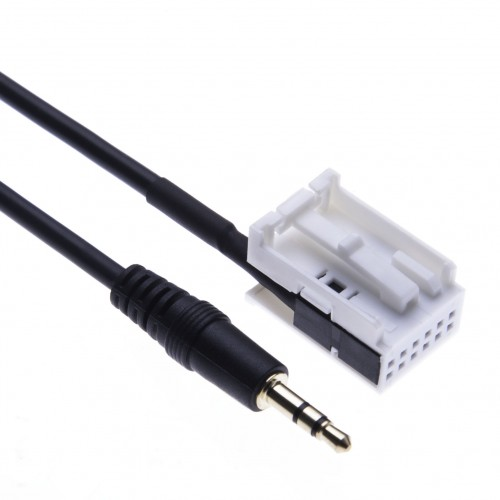 Car Aux-In Adapter Cable for Mercedes A Class W169 / W245, B W245 / W203, C W209 / W203, CLK X164 / W209, GL W164 / X164 a