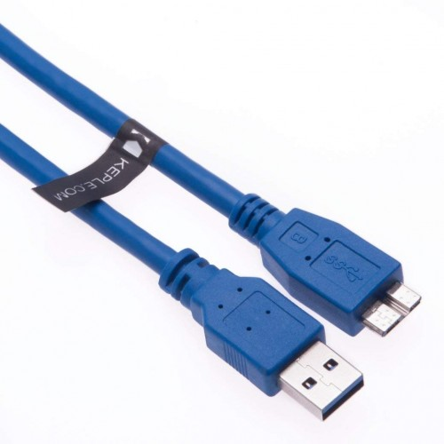 USB 3.0 Cable AM to Micro B, 28AWG - 1m
