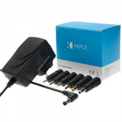 UK Power Supply Adapter for Any Device - AC/DC 12VDC 2A