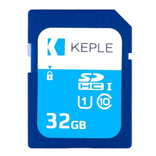 32GB SD Memory Card by Keple | High Speed SD Card for HD Videos & Photos | 32 GB Storage Class 10 UHS-I U1 SDHC