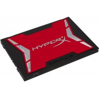 """Kingston HyperX Savage - Solid state drive - 120 GB - internal - 2.5 (in 3.5"""" carrier) - SATA 6Gb/s a"""