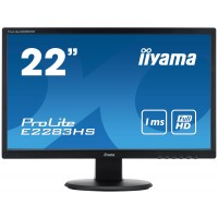 iiyama ProLite E2283HS-B1 21.5 Black Full HD LED display a