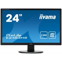 iiyama ProLite E2483HS-B1 24 Black Full HD LED display a