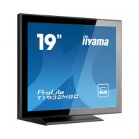 Iiyama Prolite T1932MSC-B2X 19 Projective Capacitive Touch, USB, TN, 5ms, 1 x VGA, 1 x DVI-D, USB, Speakers a