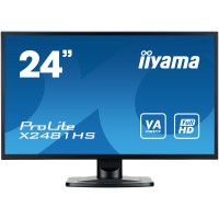 iiyama ProLite X2481HS-B1 23.6 Full HD VA Matt Black computer monitor LED display a
