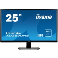 "Iiyama ProLite XU2590HS-B1 - LED monitor - 25 (25"" viewable) - 1920 x 1080 Full HD (1080p) - AH-IPS - 250 cd/m² - 1000:1 - 5 ms - HDMI, DVI-D, VGA - speakers - black a"
