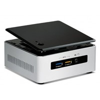 Intel Next Unit of Computing Kit NUC5i3RYH - Barebone - mini PC - 1 x Core i3 5010U / 2.1 GHz - HD Graphics 5500 - GigE - WLAN: Bluetooth 4.0 LE, 802.11b/g/n/ac a