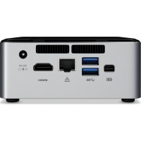 Intel Next Unit of Computing Kit NUC6i3SYH - Barebone - mini PC - 1 x Core i3 6100U / 2.3 GHz - HD Graphics 520 - GigE - WLAN: 802.11a/b/g/n/ac, Bluetooth 4.1 a