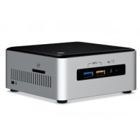 Intel Next Unit of Computing Kit NUC6i5SYH - Barebone - mini PC - 1 x Core i5 6260U / 1.8 GHz - Iris Graphics 540 - GigE - WLAN: 802.11a/b/g/n/ac, Bluetooth 4.1 a