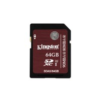 64GB SDXC UHS-I Speed Class 3 Flash Card a