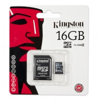 Kingston memory 16GB microSDHC Class 4 Flash Card a