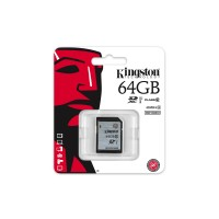 Kingston - Flash memory card - 64 GB - UHS Class 1 / Class10 - SDXC UHS-I a