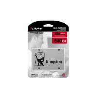 Kingston SSDNow UV400 - Solid state drive - 240 GB - internal - 2.5 - SATA 6Gb/s a