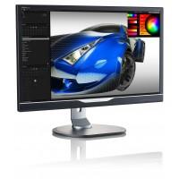 PhilIps 288P6LJEB/00 28w, 16.9, P-Line, Black, Slim Bezel, Texture Finish, w-led, 3840x2160 4K, TN, 170/160 Viewing Angle CR:10, 300 cd/m2, 1000:1, 1ms gtg, Headphone out, 3w Speakers, USB x2 - 2.0 & x3 - 3.0, 100x100 VESA, Tilt: -5/20,  Height Adjust: 15