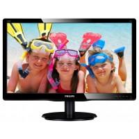 PhilIPS 200V4QSBR/00 19.53, 16.9, V-Line, Black, Glossy (front bezel) /Texture (rear cover), w-led, 1920x1080, MVA, 178/178 Viewing Angle CR:10, 250 cd/m2, 1000:1, 8ms gtg, 100x100 VESA, Tilt: -5/+20, VGA / DVI-D, Internal PSU, 2 years Warranty a