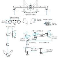 StarTech.com Dual-Monitor Arm a