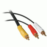 2m Value Series Bi-Directional S-Video + 3.5mm Audio to RCA Audio/Video Cable a