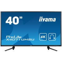 iiyama ProLite X4071UHSU-B1 39.5 4K Ultra HD MVA Matt Black computer monitor LED display a