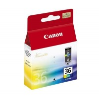 Canon CLI-36 - 1511B001 - 1 x Black,1 x Cyan,1 x Magenta,1 x Yellow - Ink Cartridge - For PIXMA iP100,iP100 Bundle,iP100 with battery,iP100wb,iP110,mini260,mini320 a