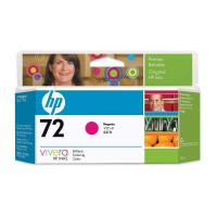 HP 72 - C9372A - 1 x Magenta - Ink cartridge - For DesignJet T1100, T1120, T1200, T1300, T2300, T610, T620, T770, T790, T795 a
