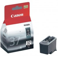 Canon PG-37 - 2145B001 - 1 x Black - Ink tank - For PIXMA iP1800,iP1900,iP2500,iP2600,MP140,MP190,MP210,MP220,MP470,MX300,MX310 a
