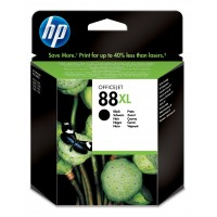 HP 88XL - C9396AE - 1 x Black - Ink cartridge - High Yield - For Officejet Pro K5400, K550, K8600, L7480, L7550, L7555, L7590, L7650, L7681, L7710, L7750 a