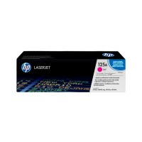 HP 125A - CB543A - 1 x Magenta - Toner cartridge - For Color LaserJet CM1312 MFP, CM1312nfi MFP, CP1215, CP1515n, CP1518ni a