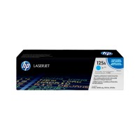 HP 125A - CB541A - 1 x Cyan - Toner cartridge - For Color LaserJet CM1312 MFP, CM1312nfi MFP, CP1215, CP1515n, CP1518ni a