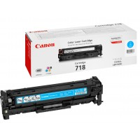 Canon 718 C - 2661B002 - 1 x Cyan - Toner Cartridge - For iSENSYS LBP7210,LBP7660,LBP7680,MF8340,MF8350,MF8360,MF8380,MF8540,MF8550,MF8580 a