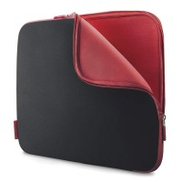 Belkin Neoprene Sleeve for Notebooks up to 17', Jet/Cabernet a