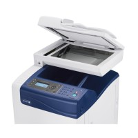 Xerox WorkCentre 6505N - Multifunction printer - colour - laser - Legal (216 x 356 mm) (original) - A4/Legal (media) - up to 23 ppm (copying) - up to 23 ppm (printing) - 250 sheets - 33.6 Kbps - USB 2.0, Gigabit LAN, USB host a