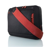Belkin Neoprene Messenger Bag for Notebooks up to 17', Jet/Cabernet a