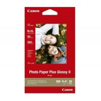 Canon Photo Paper Plus II PP-201 - Glossy photo paper - 100 x 150 mm - 260 g/m2 - 50 sheet(s) a