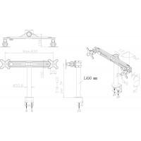 Newstar Flatscreen Desk Mount 10-30, clamp, 2 screens, 1 pivot, Tilt/Rotate/Swivel, Vesa 75x75 to 100x100mm, Height 0-42cm (manual), Max 16kg, Black a