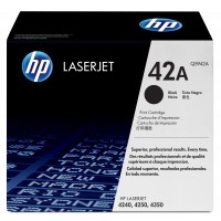 HP 42X - Q5942X - 1 x Black - Toner cartridge - High Yield - For LaserJet 4250, 4250dtn, 4250dtnsl, 4250n, 4250tn, 4350, 4350dtn, 4350dtnsl, 4350n, 4350tn a