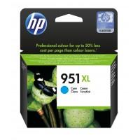 HP 951XL - CN046AE - 1 x Cyan - Ink cartridge - High Yield - Blister - For Officejet Pro 251dw, 276dw, 8100, 8600, 8600 N911a, 8610, 8620, 8625, 8630 a
