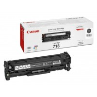 Canon 718 BK - 2662B002 - 1 x Black - Toner Cartridge - For iSENSYS LBP7210,LBP7660,LBP7680,MF8340,MF8350,MF8360,MF8380,MF8540,MF8550,MF8580 a