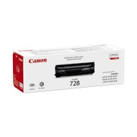 Canon 728 - 3500B002 - 1 x Black - Toner Cartridge - For iSENSYS FAXL150,L170,L410,MF4410,MF4450,MF4550,MF4730,MF4750,MF4870,MF4890 a