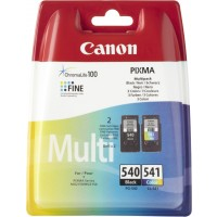 Canon PG-540 CL541 - 5225B007 - 1 x Black,1 x Cyan,1 x Magenta,1 x Yellow - Multipack - Ink tank - For PIXMA MG2250,MG3150,MG3250,MG3510,MG3550,MG4250,MX395,MX455,MX475,MX525,MX535 a