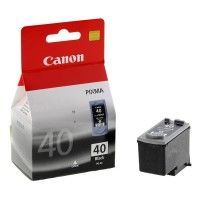 Canon PG-40 - 0615B001 - 1 x Black - Ink tank - For FAX JX210, PIXMA iP1800,iP1900,iP2600,MP140,MP190,MP210,MP220,MP470,MX300,MX310 a