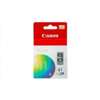 Canon CL-41 - 0617B001 - 1 x Cyan,1 x Magenta,1 x Yellow - Ink Cartridge - For PIXMA iP1800,iP1900,iP2500,iP2600,MP140,MP190,MP210,MP220,MP470,MX300,MX310 a