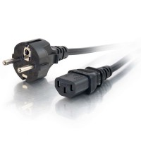 3m 16 AWG Universal Power Cable (IEC 320 C13 to CEE7/7) a