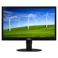 PhilIPS 231B4QPYCB/00 23, 16.9, B-Line, Black, Texture Finish, w-led, 1920x1080,  AH-IPS, 178/178 Viewing Angle CR:10, 250 cd/m2, 1000:1, 7 ms (gtg bw), Headphone out, Speakers, USB x2 - 2.0, 100x100 VESA, Powersensor, Tilt: -5/20,  Height Adjust: 110, Pi