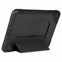Targus SafePORT Heavy Duty - Back cover for tablet - polycarbonate, thermoplastic polyurethane - black - for Apple iPad Air a